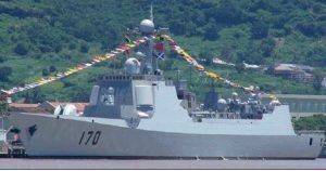 Lanzhou Type 052C Destroyer