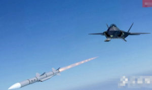 China's PL-15 air-to-air missile