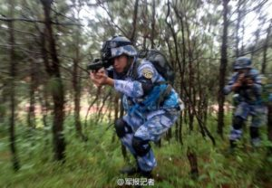 China marines digital camouflage