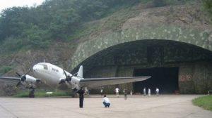 Chinese military underground air base