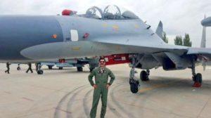 Pakistani fighter pilot before Chinese Su-30