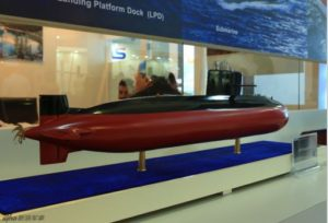 S20 Chinese submarine for export