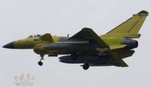 J-10B with new type missile 2