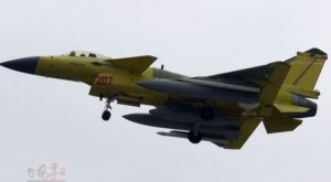 J-10B with new type missile