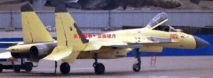 J-11 figher with new radome 3
