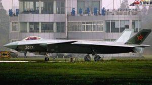 No. 2017 J-20 fighter