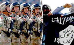 China vs ISIS