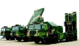 China's HQ-9 surface-to-air missile