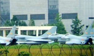 Production type J-10B fighter