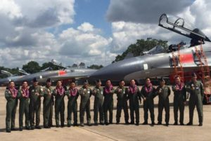 Thailand's pilots before China's J-11 fighters