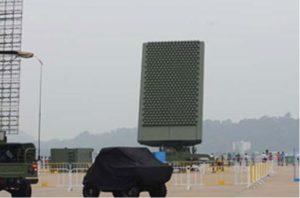 China's JY-26 UWB-radar