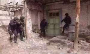 Chinese special forces in action against terrorists 4