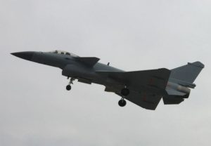 J-10B fighter with Taihang WS engine