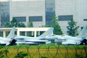 J-10B fighters with Taihang engine