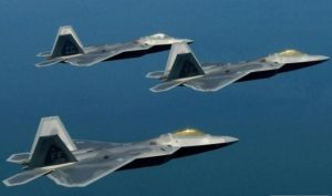 F-22 fighters