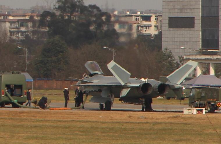 J-20 prototype