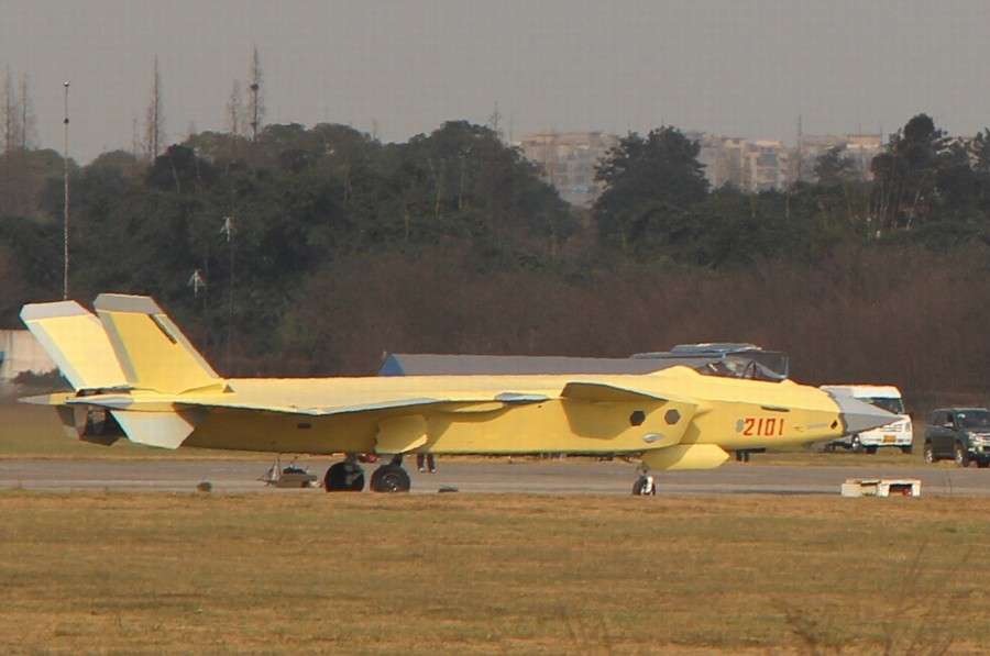 No. 2101 J-20 fighter