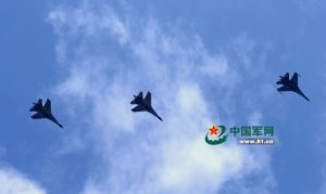 J-11 fighter with taihang engine 10