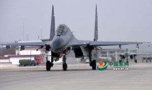J-11 fighter with taihang engine 8