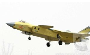 No. 2101 J-20 fighter 1