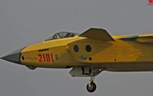 No. 2101 J-20 fighter 2