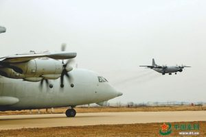 China's early warning aircrafts