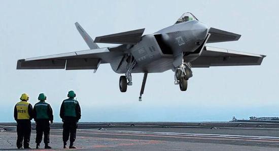 J-20 on board