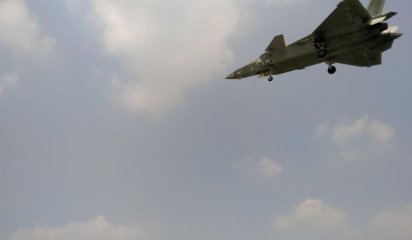 J-20 latest coating in July 2016