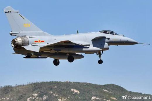 J-10C fighters equipped with WS-10B engine